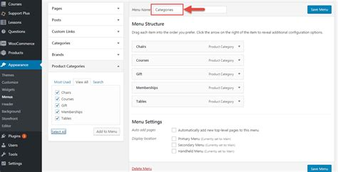 wordpress tutorial add menu page woocommerce add wp menu to wc pages via php business