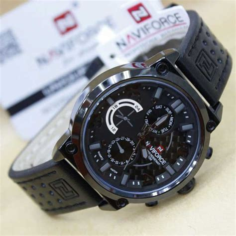 Jam Tangan Pria Naviforce Nf 9097m Original Leather No 1 Pln01 jam tangan naviforce nf 9068 original 3 pilihan