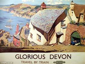 Arrange A Room Online trainspotter s collection of old railway posters set to
