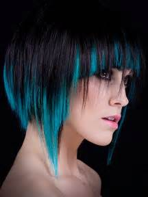 2013 bold teal hair highlights hairstyles 2015 hair