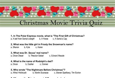 christmas film quiz online 20 free printable christmas games