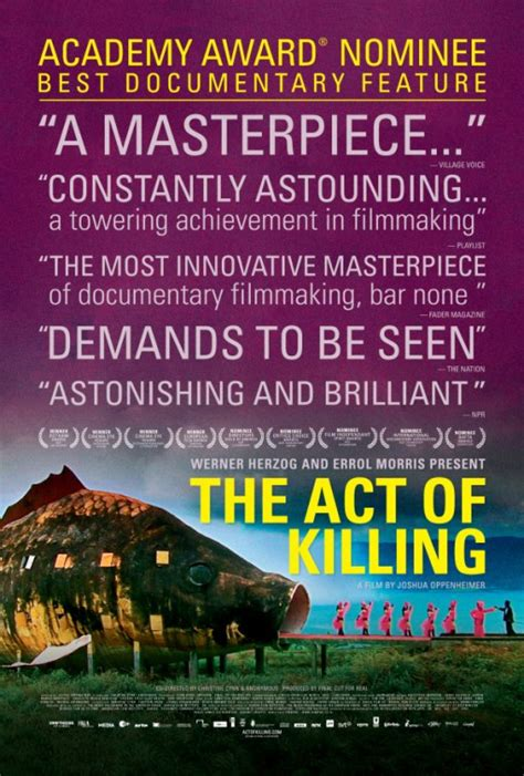 the act of killing 2012 imdb the act of killing movie poster 3 of 3 imp awards