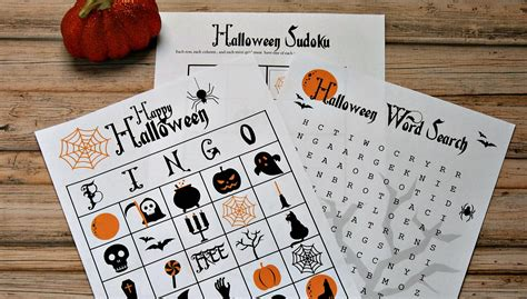 printable games for halloween party printable halloween activities for kids