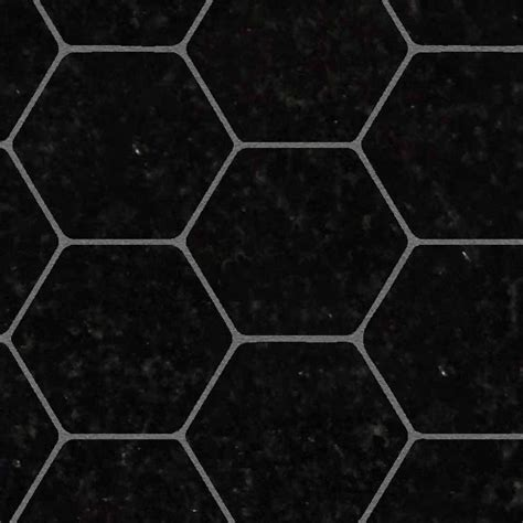 1 Hexagon Ceramic Floor Tile - hexagonal black marble floor tile texture seamless 1 21125