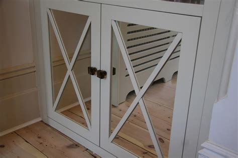 Mirror Cabinet Doors Made To Measure by Fitted Home Office Furniture Bespoke Fitted Bookcases