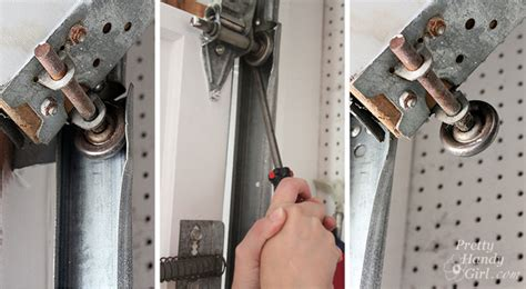 How To Fix Garage Roller Door by How To Replace Garage Door Rollers Pretty Handy
