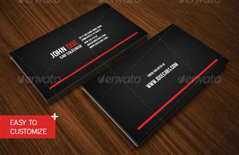 best looking business card template best automotive business cards image collections card