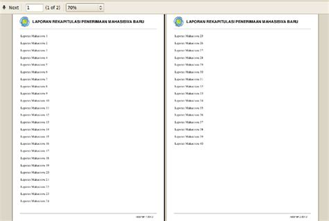 Membuat Nomor Halaman Pada Pdf | membuat header footer dan nomor halaman pada pdf dengan