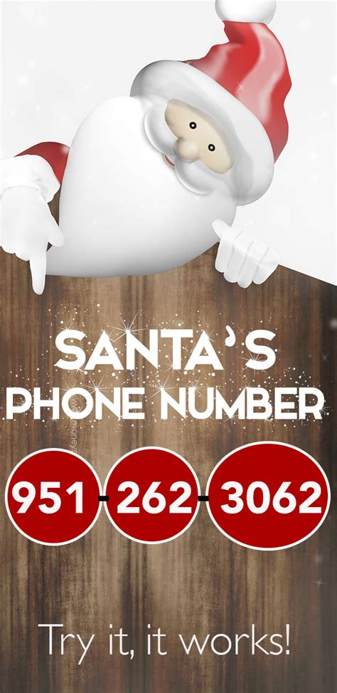 call santa call santa claus here s his phone number money saving