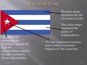 what do the colors of the flag stand for all about cuba
