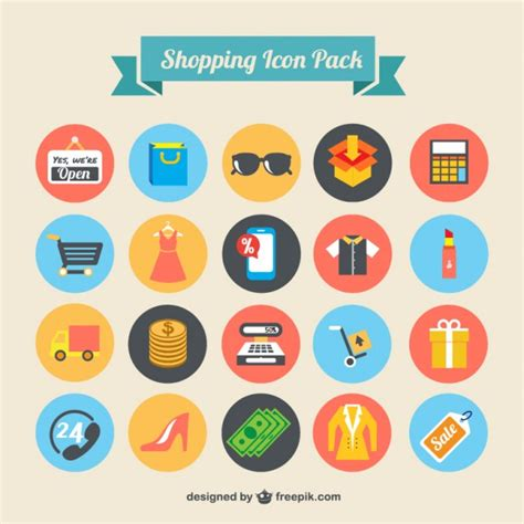 icon design store brunei shopping icons pack vector free download