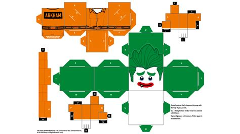 What Is Paper Craft - papercraft the joker papercraft the lego 174 batman