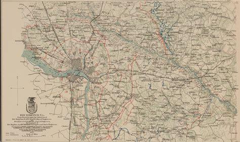 Records Richmond Va Richmond Va 1867 Or Atlas 77 1 The Siege Of Petersburg