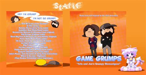 game grumps layout game grumps arin jon s grumpy shenanigans music box art