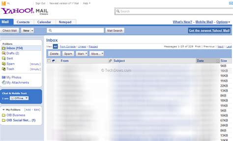 change yahoo mail layout to classic want old yahoo mail back here is how to get it updated