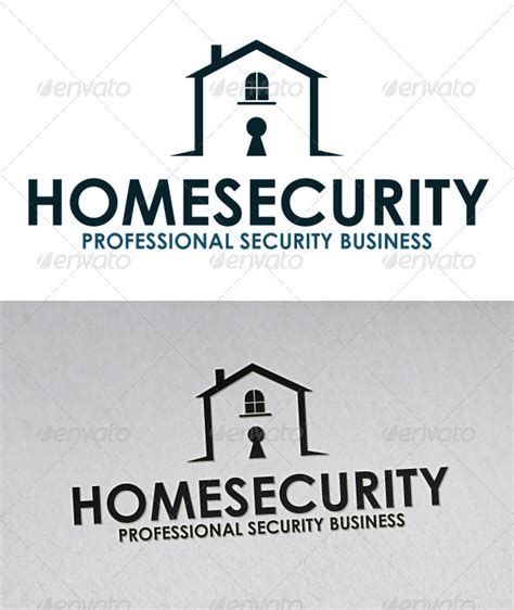 home security logo graphicriver