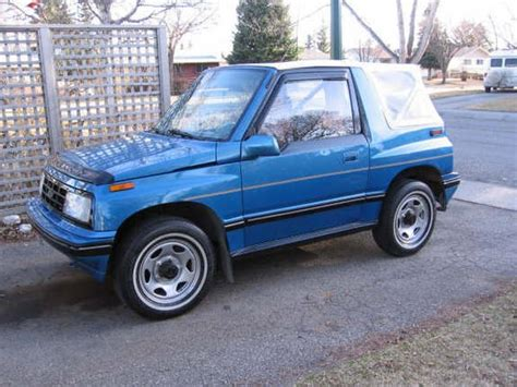 chevy tracker 1990 chevy 1990 chevrolet tracker specs photos