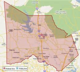 map montgomery county superfund in montgomery county tceq www tceq