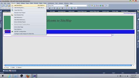 design menu bar in asp net web development with asp net how to create menu bar