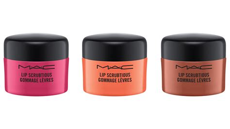 Mac Lip m a c lip scrubtious is here to save your chapped