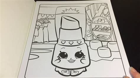 shopkins coloring pages lippy lips coloring time episode 9 shopkins lippy lips speed