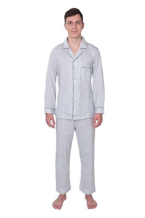 mens knit pajamas sets s 100 cotton knit pajama set 2 pc sleeve