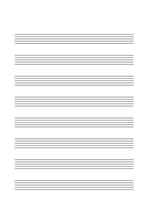 Vorlage Notenblatt Word Notenpapier Musik F 252 R Kinder
