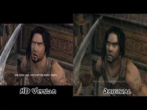 Warrior Ps2 Original hd prince of warrior within comparison trilogy hd vs original