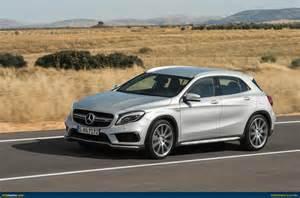 Www Mercedes Gla Ausmotive 187 Mercedes Gla 45 Amg Revealed