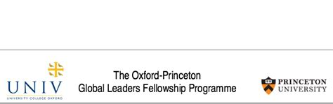 Oxford Mba Essays 2016 by 2016 2018 Oxford Princeton Global Leaders Programme