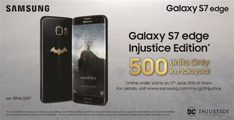 Harga Samsung S7 Edge Injustice samsung galaxy s7 edge injustice mekanika permotoran