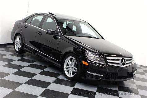 2012 Mercedes C300 by 2012 Used Mercedes C Class Certified C300 4matic Awd