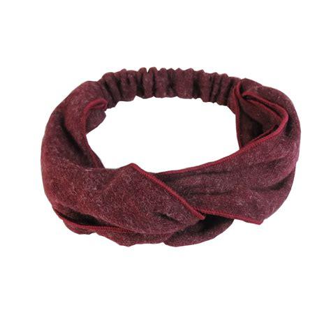 Bandana Headband Bando Murah hair accessory fashion woolen hair band headband bandanas elastic soft headbands hair accessory