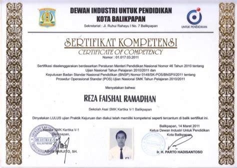 sertifikat kompetensi tkr