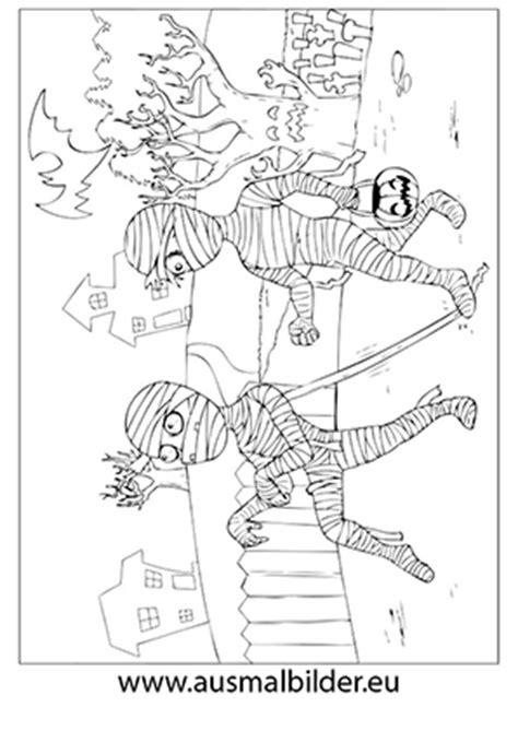 ausmalbilder zwei mumien ausdrucken