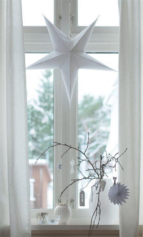 Weihnachtsdeko Fensterbank Basteln weihnachtsdeko f 252 r fenster basteln 20 ideen und beispiele