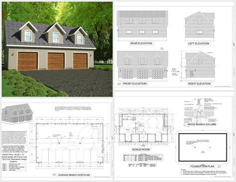detached garage with apartment plans g445 plans 48 x28 x 10 detached garage plans with bonus