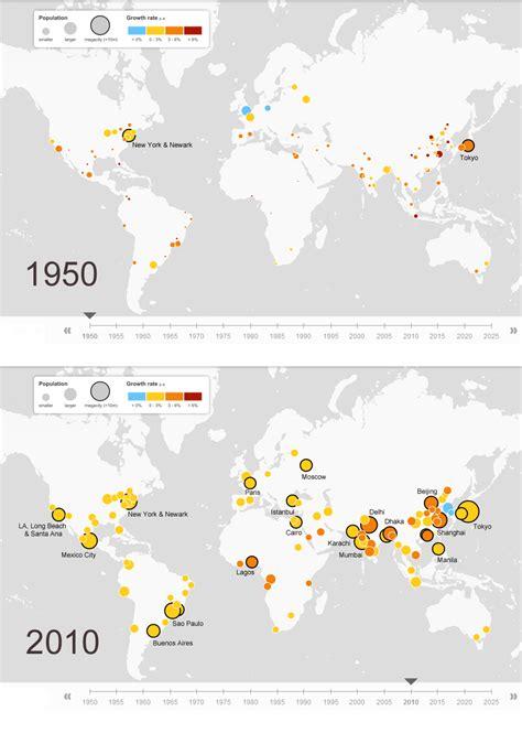 megacities world map megacities around the world indexmundi
