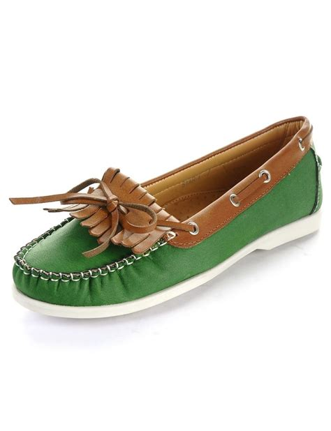 preppy shoes preppy slip on boat shoes green