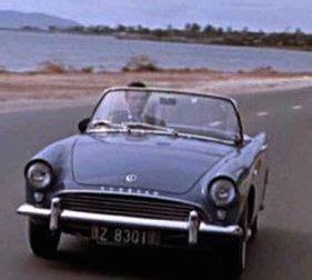 Dr No Bond Car by Sunbeam Alpine Series 2 1962 Dr No Bond Contre