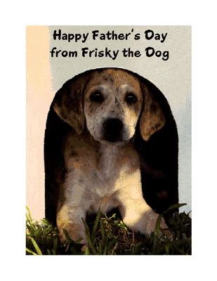 printable birthday cards dogs from the dog greeting card father s day printable card