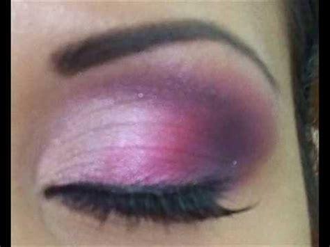 imagenes de ojos pintados con sombras maquillaje de ojos sombras rosa fiusha youtube