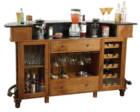 Wine Bar Cabinet Furniture Furniture Solid Wood Liquor Cabinet Bar Wine Storage Rack And Glass Hanger Also Open Shelf With