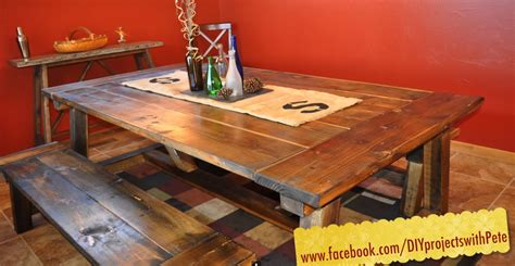A Farm Table by How To Build A Farmhouse Table The Most Complete