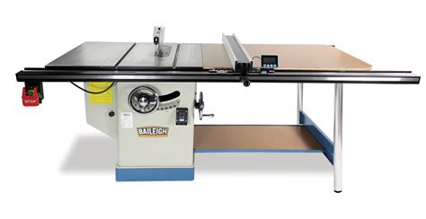 table saw professional cabinet table saw ts 1248p 52 baileigh industrial