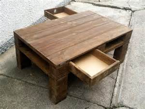 simple rustic wood pallet coffee table pallet furniture diy