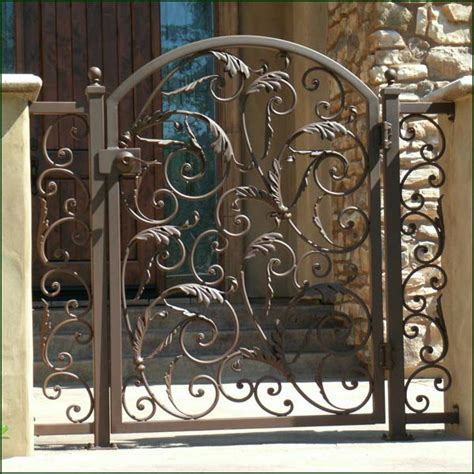 Decorative Iron Gates by Ornamental Iron Gates Wrought Iron Gates Driveway Gate
