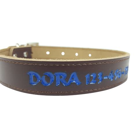 id collar premium personalized collar colors custom engraved name id ebay