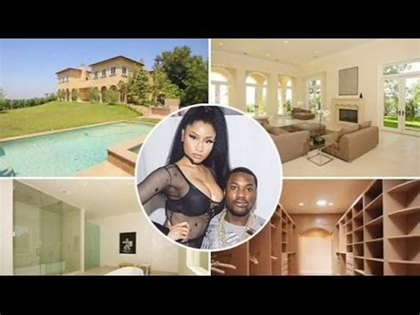 nicki minaj house inside nicki minaj and meek mill new house 2016 inside outside 30 000 month mansion