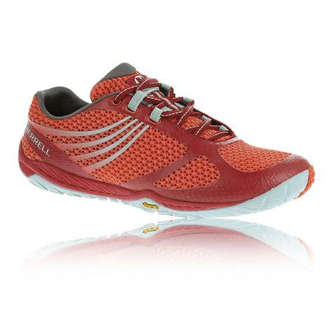 merrell vibram running shoes merrell pace glove 3 womens orange vibram walking